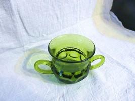 Vtg. Indiana Glass Kings Crown Thumbprint Sugar Bowl - $20.56
