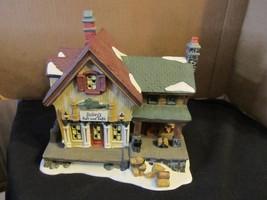 "Harbourside Village Limited Edition Baileys Bait & Tackle "" Porc.  Lighted House - $52.35"
