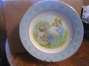 """Avon 1974 """"Tenderness """" Collector Plate"""