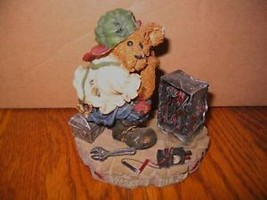 "Boyds The Bearstone Coll.""Sparky & The Box"" - $22.43"