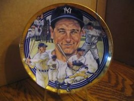"The ""Lou Gehrig"" Best of Baseball Plate Collection - $28.04"