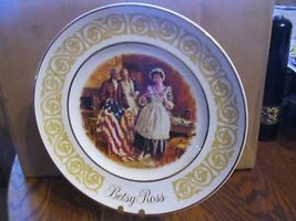 "Avon 1973 ""Betsy Ross "" Collector Plate - $18.69"