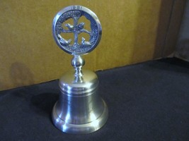 """Crown & Roses 12 Days of Christmas Pewter Bell """" Four Calling Birds """" - $37.39"""