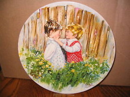 """Wedgwood """" Mary Vickers,Be My Friend"""" Collector Plate - $18.69"""