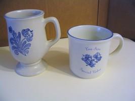 """Vtg.  Pfaltzgraff Pottery"""" Yorktowne"""" Mug & Coffee Cup - $37.39"""