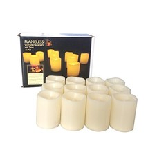 Candle Choice Set of 12 Flameless Candles, Flameless Votive Candles LED ... - $20.72