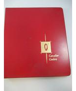 Coca-Cola Cavalier Cooler Sales Binder with 35 Cooler Sheet Information ... - $44.55