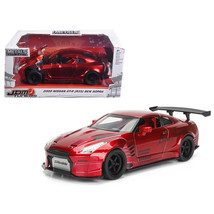2009 Nissan GT-R (R35) Ben Sopra Red JDM Tuners 1/24 Diecast Model Car  ... - $32.30