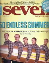 The BEACH BOYS @ VEGAS SEVEN Magazine MAY 2012 - $7.95