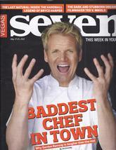 Gordon Ramsay, Bryce Harper, Ted V Mikel @ Vegas Seven Magazine May 2012 - $4.95