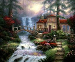 Sierra River Falls Cross Stitch Pattern***L@@K*** - $2.95