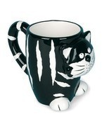 NEW Cute Chester The Black Cat / Kitty Novelty Coffee Mug - Great For Co... - $26.91 CAD