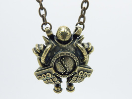 Blitzcrank league of legends Pendant - Geekery Video Games Necklace meda... - $46.00