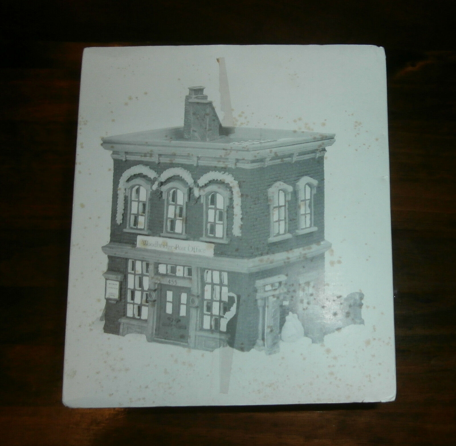 Primary image for Department 56 New England Village Series Woodbridge Post Office In Box No Light