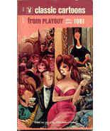 Playboy Book of Cartoons Vintage 1961 - $15.00