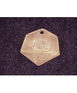 Vintage Cabrillo National Monument Medallion Pendant, from San Diego, Ca... - $6.95