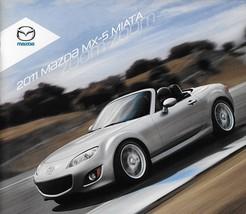 2011 Mazda MX-5 MIATA sales brochure catalog 11 US PRHT - $8.00