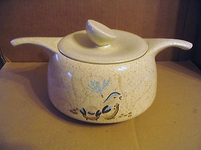 "Primary image for Vintage Red Wing ""Bob White Quail"" Casserole or Soup Tureen With Cover"
