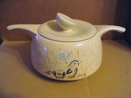 "Vintage Red Wing ""Bob White Quail"" Casserole or Soup Tureen With Cover - $46.74"