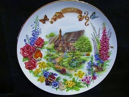 "Dot Barlowe's "" English Country Garden""  in the Gardens of Beauty Series... - $18.68"