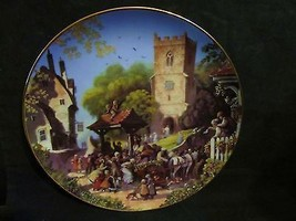 "Robert Hersey's""Wedding On The Green "" in The Story of a Country Village Series - $18.68"