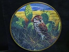 "John Seerey Lester's Noble Owls of America ""Prairie Sundown"" Collector P... - $23.36"