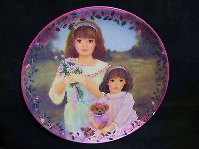 "Chantal Poulin's "" Cherished Dreams"" in The Kindred Moments Series Plate"
