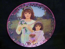 "Chantal Poulin's "" Cherished Dreams"" in The Kindred Moments Series Plate - $23.36"