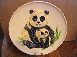 """Goebel's 1977 """"Mother Panda and Baby""""Collector Plate - $25.23"""