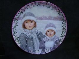 "Chantal Poulin's "" Forever Friends"" in The Kindred Moments Series Plate - $23.36"