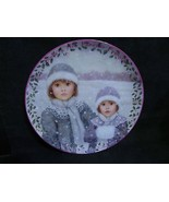 """Chantal Poulin's """" Forever Friends"""" in The Kindred Moments Series Plate - $23.36"""