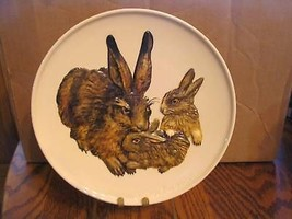 """Goebel's 1975 """"Mother Rabbit and Babies""""Collector Plate - $21.49"""
