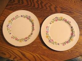 """Vtg.Pickard """" Garland NO.1043 """"Bread & Butter Plates - $26.17"""