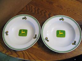 Vintage John Deere Collector Soup Bowls  - $28.04
