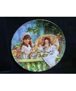 """Sandra Kuck's """" Cats in The Cradle"""" in The Hearts and Flowers Series Plate - $18.68"""