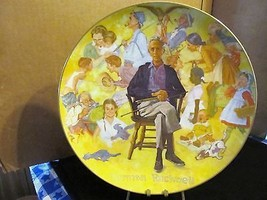 "Norman Rockwell's Commemorative Plate "" Norman Rockwell Remembered "" - $20.56"
