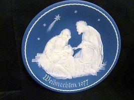 """Mettlach's Villeroy & Boch """"Holy Family """" Coll. Plate - $65.43"""