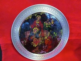"""Rhodes Studios """" Nativity of Peace """"in The Miracles of Light Series Coll... - $42.06"""