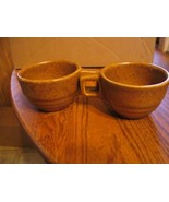 "Vintage Monmouth""Golden Brown,Maple Leaf"" Coffee Cups - $23.36"