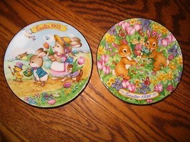 "Avon "" 1993 & 1996 Mini Easter"" Collectors Plates - $24.30"