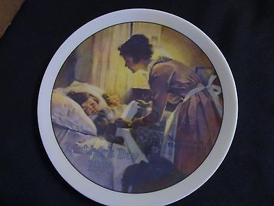 "Norman Rockwell's "" 1976 Mother's Day"" Collector Plate"