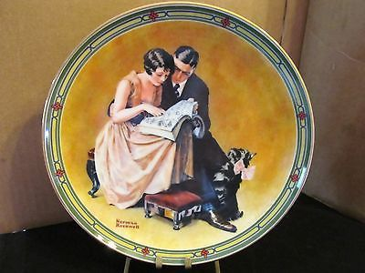 "Norman Rockwell's American Dream Series "" A Couple's Commitment"" Collector Plate"