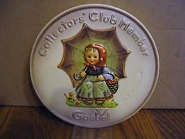 """Vintage Goebel """"Collectors Club 1978""""  Collectors Plate - $23.36"""