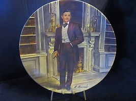 "Raymond Kursar's Gone With The Wind ""  Rhett "" Collector Plate - $21.49"