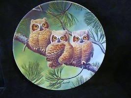 """Joe Thornbrugh's """"Three of a Kind:Great Horned"""" series Baby Owls of N. A... - $25.23"""