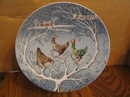Vintage Haviland Limoges 1972 Christmas Coll. Plates - $25.23