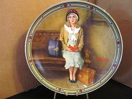 "Norman Rockwell's American Dream Series "" A Young Girl's Dream "" Collect... - $15.99"