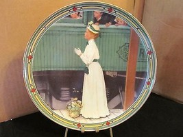 "Norman Rockwell's American Dream Series "" A Mother's Welcome "" Col. Plate - $15.99"
