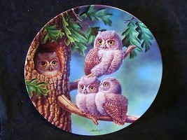 """Joe Thornbrugh's """"Peek-a-Whoo:Screech Owls"""" series Baby Owls of N. Ameri... - $25.23"""