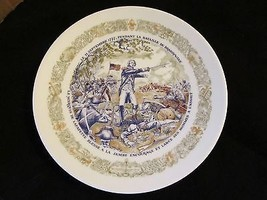 "D'ARCEAU-LIMOGES  Lafayette "" The Battle of Brandywine"" Collector Plate - $23.36"